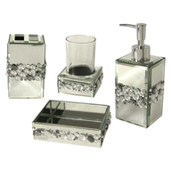wholesale discount 7 chrome bathroom accessories