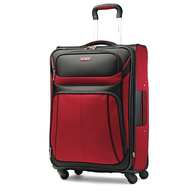 wholesale discount black and red luggage