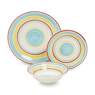 wholesale discount colorful dinnerware