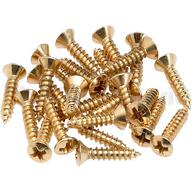 wholesale gold screws