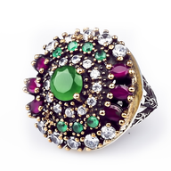 wholesale liquidation multi color ring