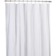 wholesale discount shower curtain white