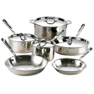 wholesale silver pots and pans