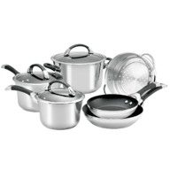 wholesale liquidation silver pots and pans