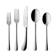 wholesale discount silverware set silver