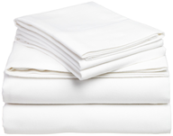 wholesale white bed sheets